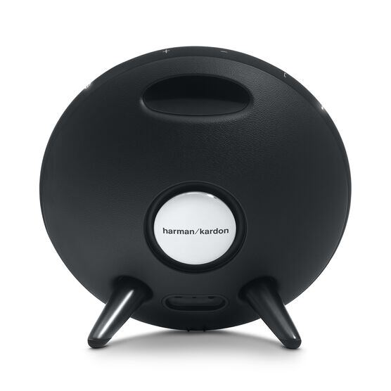 Onyx Studio 3 - Black - Portable Bluetooth Speaker - Back