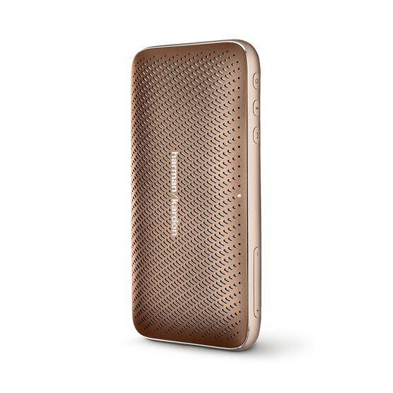 Harman Kardon Esquire Mini 2 - Brown - Ultra-slim and portable premium Bluetooth Speaker - Detailshot 2