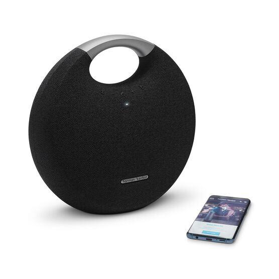 Onyx Studio 5 - Black - Portable Bluetooth Speaker - Detailshot 1