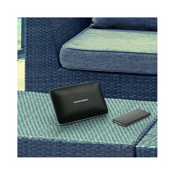 Esquire 2 - Gold - Premium portable Bluetooth speaker with quad microphone conferencing system - Detailshot 8
