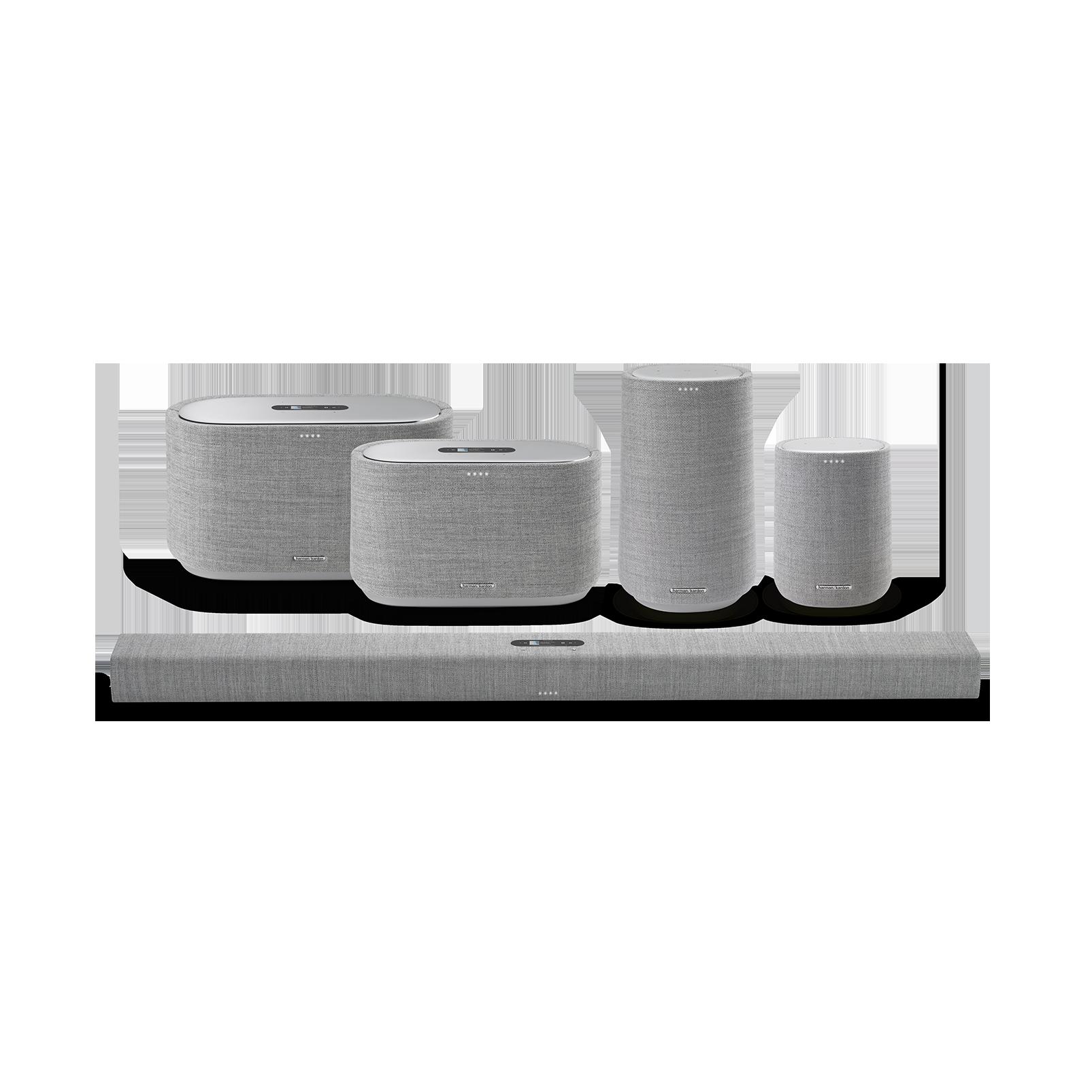 Harman Kardon Citation 300 - Grey - The medium-size smart home speaker with award winning design - Detailshot 5