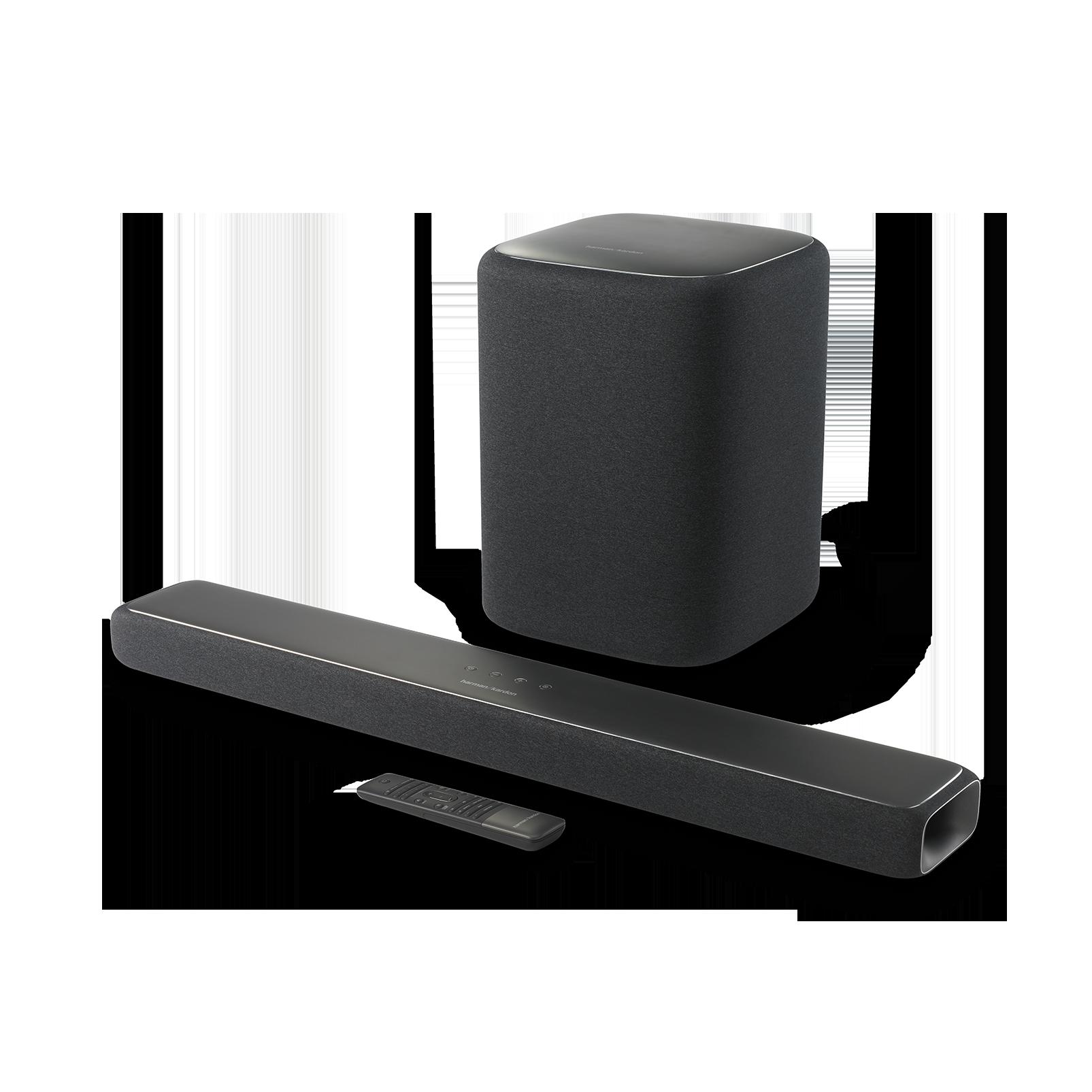 Enchant 800 - Graphite - All in One 8-Channel Soundbar with MultiBeam™ Surround Sound - Detailshot 1