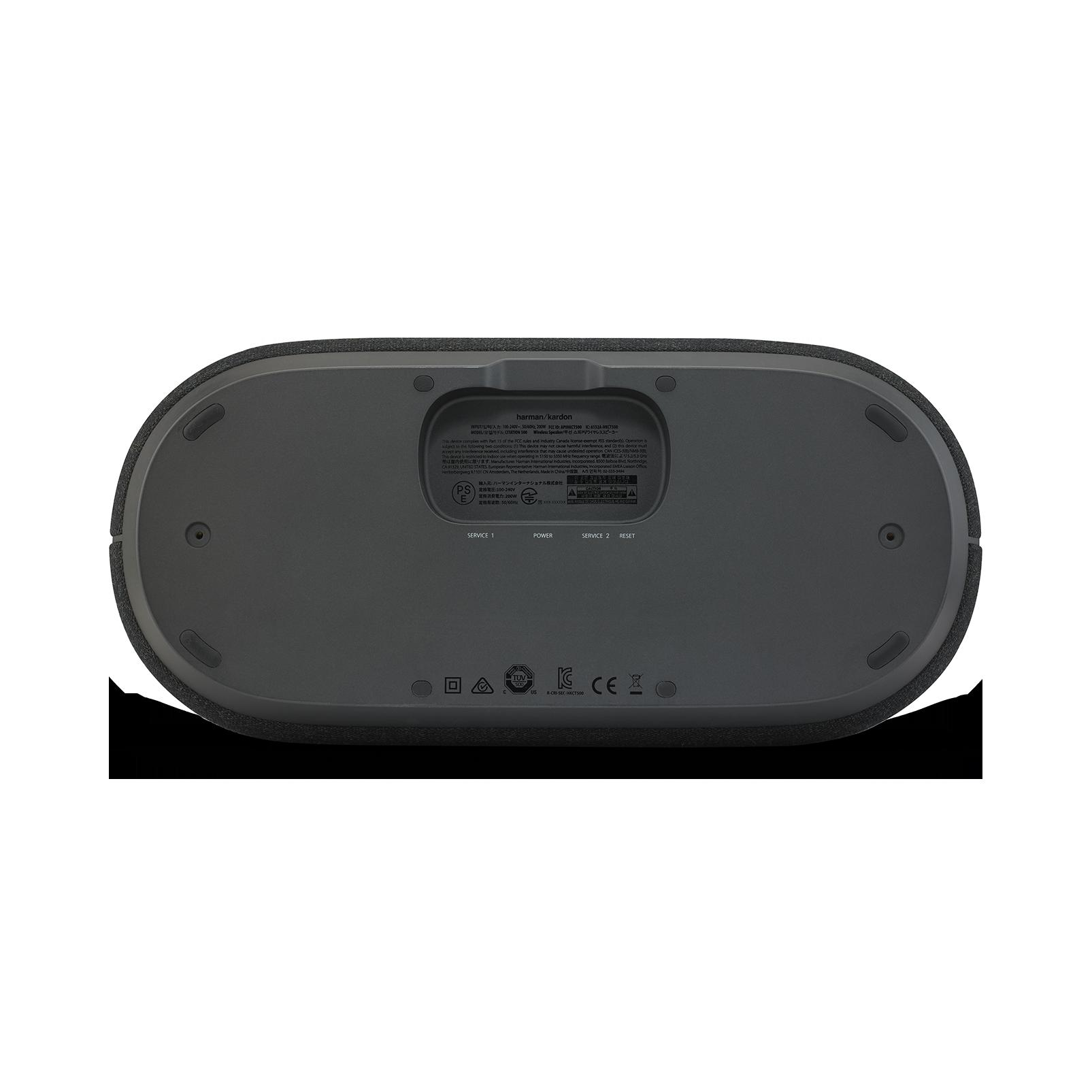 Harman Kardon Citation 500 - Black - Large Tabletop Smart Home Loudspeaker System - Detailshot 2